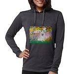 Eskimo Spitz 1 - Garden Womens Hooded Shirt