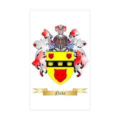 Noke Sticker (Rectangle 50 pk)