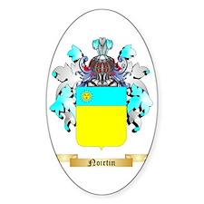 Noirtin Sticker (Oval)