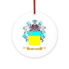Noirtin Round Ornament