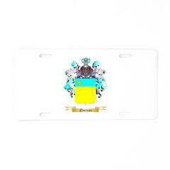 Noireau Aluminum License Plate