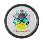 Noire Large Wall Clock