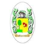 Noguiera Sticker (Oval 50 pk)