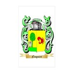 Noguier Sticker (Rectangle 50 pk)