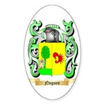 Nogues Sticker (Oval)