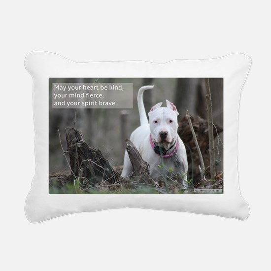 Brave Spirit - Dogo Arge Rectangular Canvas Pillow