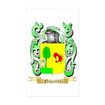 Nogueira Sticker (Rectangle 10 pk)
