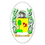Nogueira Sticker (Oval 50 pk)