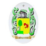 Nogueira Oval Ornament