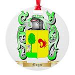Noger Round Ornament