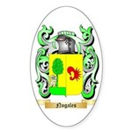 Nogales Sticker (Oval)