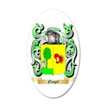 Nogal 35x21 Oval Wall Decal