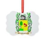 Nogal Picture Ornament