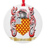 Noel Round Ornament
