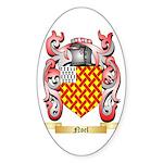 Noel Sticker (Oval 50 pk)