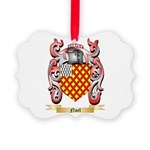 Noel Picture Ornament