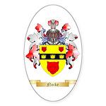 Nocke Sticker (Oval 10 pk)