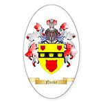 Nocke Sticker (Oval 50 pk)