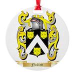 Noblett Round Ornament