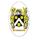 Noblett Sticker (Oval 50 pk)