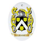Noblett Oval Ornament