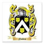 Nobles Square Car Magnet 3