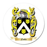 Noble Round Car Magnet