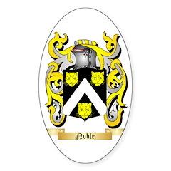 Noble Sticker (Oval 50 pk)