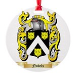 Nobels Round Ornament