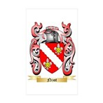 Nizot Sticker (Rectangle 50 pk)