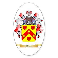 Nixon 2 Sticker (Oval)