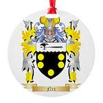 Nix Round Ornament