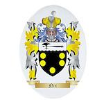 Nix Oval Ornament