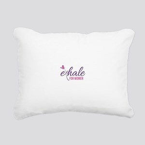 Power to Exhale Rectangular Canvas Pillow