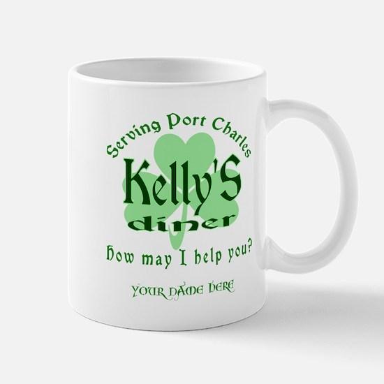 Kellys Diner General Hospital Customize Mugs