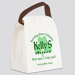 Kellys Diner General Hospital Customize Canvas Lun