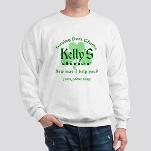 Kellys Diner General Hospital Customize Sweatshirt