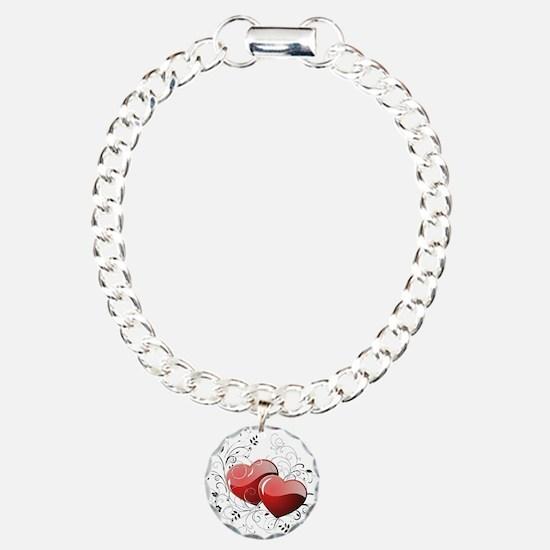 Twin hearth Bracelet