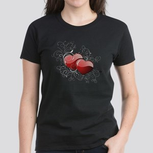 Twin hearth T-Shirt