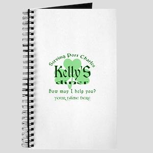 Kellys Diner General Hospital Name Badge Journal