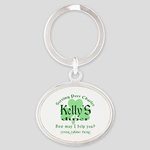 Kellys Diner General Hospital Name Badge Keychains