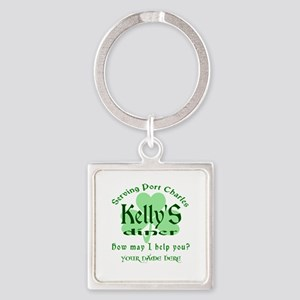 Kellys Diner General Hospital Name Badge Keychains
