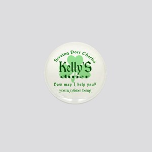 Kellys Diner General Hospital Name Badge Mini Butt