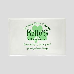 Kellys Diner General Hospital Name Badge Magnets