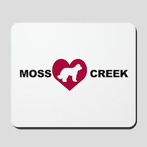Moss Creek Heart / Ollie Mousepad