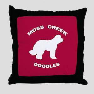 Moss Creek Heart / Ollie Throw Pillow