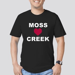 Moss Creek Heart / Oll Men's Fitted T-Shirt (dark)
