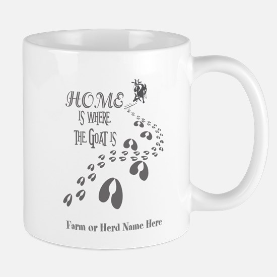 Home is Where the Goat is Pygmy Goats GYG Mugs