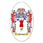 Nivison Sticker (Oval 50 pk)