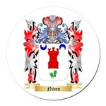 Niven Round Car Magnet